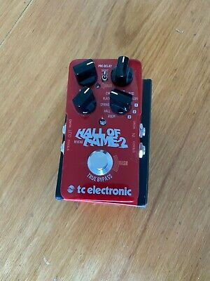 TC Electronics Hall Of Fame 2 Reverb Pedal • 66£