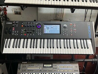 BOXED Yamaha MODX6 61-Key Digital Keyboard Polyphonic Synthesiser Synth • 800£