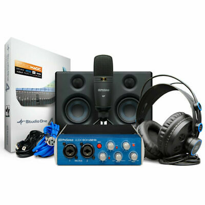PreSonus AudioBox USB 96 Ultimate Studio Bundle • 249£