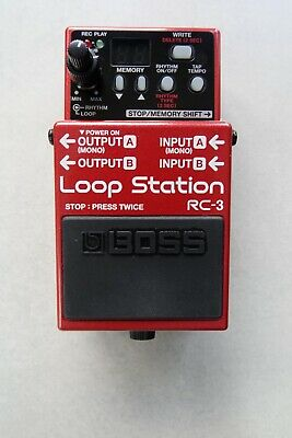 BOSS Rc-3 Loop Station Pedal - Mint Condition - Hardly Used - Never Gigged • 56.78£
