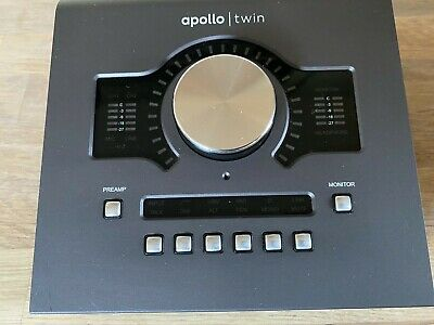 UAD Apollo Twin MkII Duo Core Thunderbolt Used And Boxed In Excellent Condition  • 408£