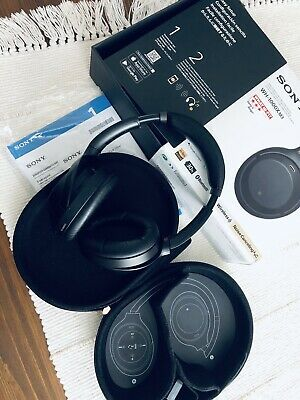 Sony WH-1000XM3 Wireless Noise Cancelling Headphones - Super Clean • 137£