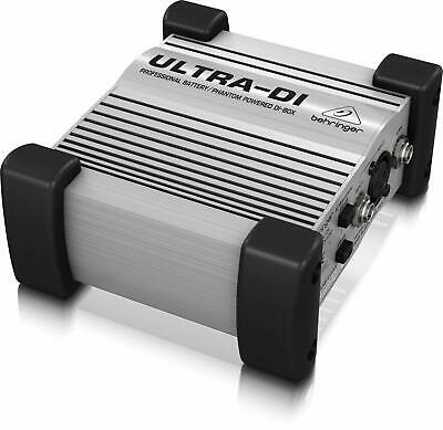 Behringer Ultra-DI DI100 DI Box, Direct Amplifier Connection, Switchable Input • 31.99£