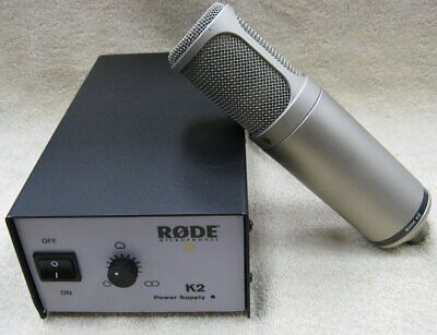 Rode K2 Variable Pattern Dual 1  Condenser Tube Microphone Kit **MINT!! • 466.34£