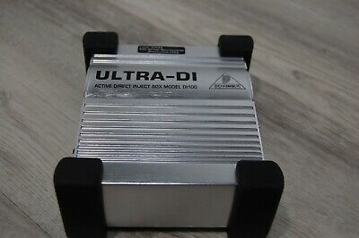 Behringer Ultra-DI DI100 Active Direct Inject Box Clean Tested  • 20.13£