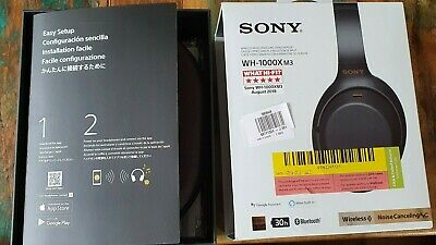Sony WH-1000XM3 Wireless Noise Cancelling Headphones - Being Sold Not Working.  • 27.30£