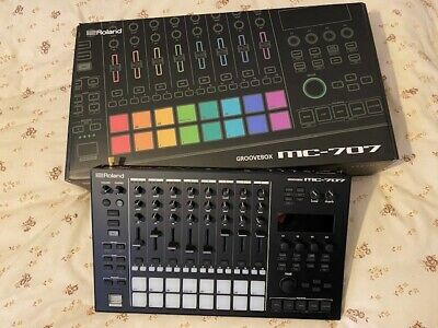 Roland MC-707 Groovebox And Sampler. Never Used. As-new. • 649£