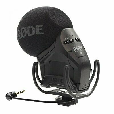 Rode Stereo Videomic Pro Rycote Stereo Condenser Microphone Svmpr [Parallel Impo • 506.74£