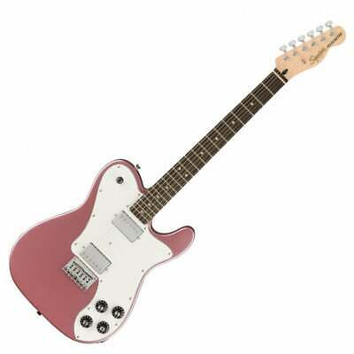 Squier By Fender Affinity Telecaster Deluxe Electric Guitar, LRL, Burgundy Mist