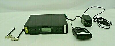 Audio-Technica ATW-R310 Receiver w/ ATW-T310 Transmitter & Power Supply SET JH
