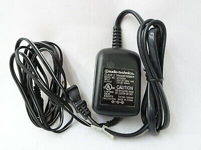 Audio Technica Power Supply Cord for Receivers Model AD1205AA 120v AC 13v DC JH