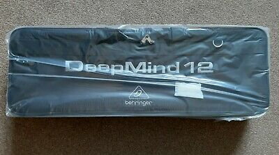 Behringer Deepmind 12-TB Deluxe Water Resistant Transport Carry Bag For Synth • 65£