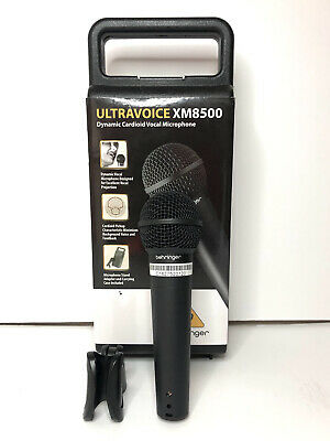 Behringer XM8500 Ultravoice Dynamic Cardioid Vocal Microphone w/ Carrying Case