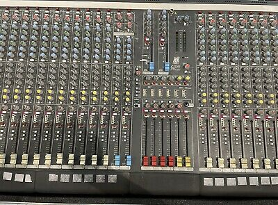 Allen and Heath Gl2200 duel function console 24 Channel