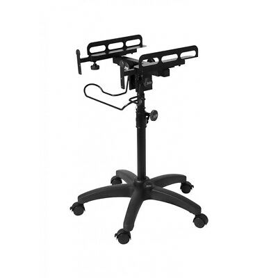 On-Stage Stands MIX-400 V2 Mobile Equipment Stand w/ Locking Caster Rolling Base