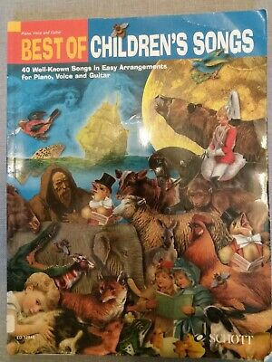 Best of Children's Songs Music Book - Piano sheets