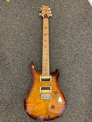 PRS SE Custom 24 Limited Edition in Tobacco Sunburst with Roasted Maple Neck