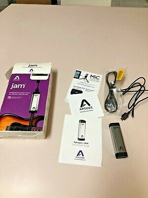 Apogee Jam Guitar and Instrument Interface Input for iPhone and Mac