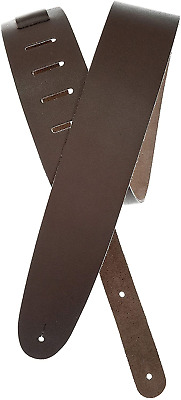 Planet Waves Basic Classic Leather Guitar Strap - Brown