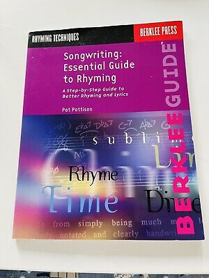 Songwriting Guide Essential Rhyming Techniques Better Lyrics Writing Music Book