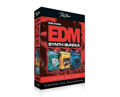 New Rob Papen Limited Edition EDM Synthesizer Bundle Predator Blade Punch Mac PC