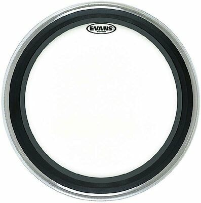 """BD18EMADCW Coated Emad White Bassdrumfell 18/"""""""