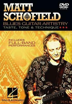 Matt Schofield: Blues Guitar Artistry New Region 1 Dvd • 18.98£
