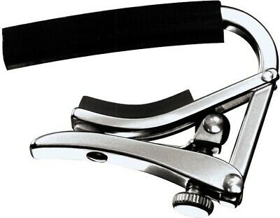 Shubb C1 Polished Nickel Standard Capo For Steel String Guitars • 14.44£