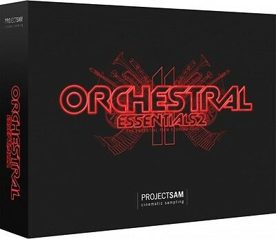 NEW Project Sam Orchestral Essentials 2 Strings Bass Choir Sound Library PC/MAC • 252.94£