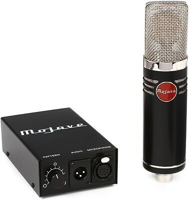 Mojave MA-1000 Large Diaphragm Variable Pattern Tube Condenser Microphone      • 1,997.71£