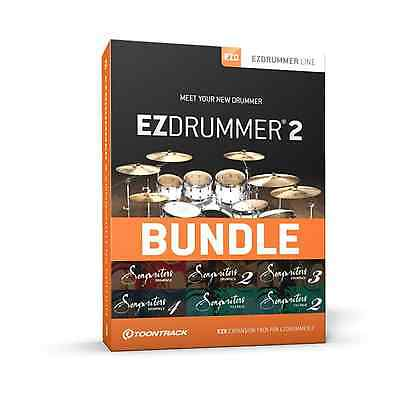 Toontrack EZdrummer 2 Songwriters Edition (Serial Download) • 159£