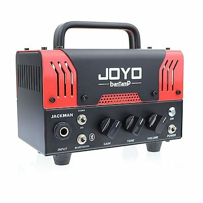JOYO Jackman Bantamp Guitar Amplifier Head 20w Tube 2 Channel Bluetooth New ! • 134.95£