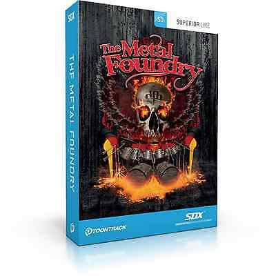 Toontrack SDX: The Metal Foundry (Serial Download) • 122£