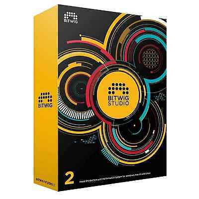 Bitwig Studio V2 Uprade From 8-Track (Serial Download) • 280£