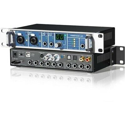 New RME Audio Fireface UC / 36-Channel USB 2.0 High-Speed Mac PC Audio Interface • 1,136.89£