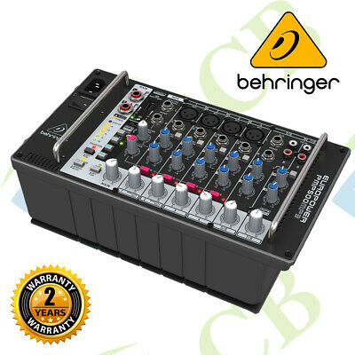 Behringer Europower PMP500MP3, 8 Channel Powered Mixer W/ MP3 Player & Wireless • 293.14£