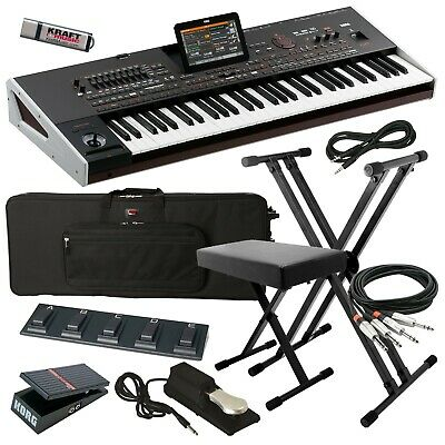 Korg Pa4X ORIENTAL 61-Key Arranger Keyboard STAGE ESSENTIALS BUNDLE • 3,125.90£
