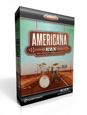 Toontrack Americana EZX Expansion For EZ Drummer • 61.54£