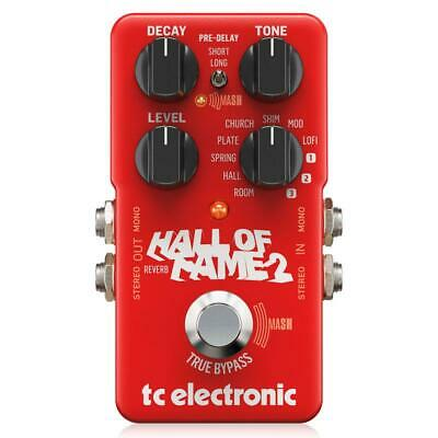 TC Electronic Hall Of Fame 2 Reverb Pedal • 114.33£