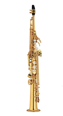 YAMAHA Soprano Saxophone Case Model YSS-475 II Gold Lacquer Bb Authentic • 1,979.32£