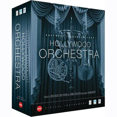 New EastWest Hollywood Orchestra + Solo Instruments Bundle (Gold) Mac/PC AAX VST • 608.25£