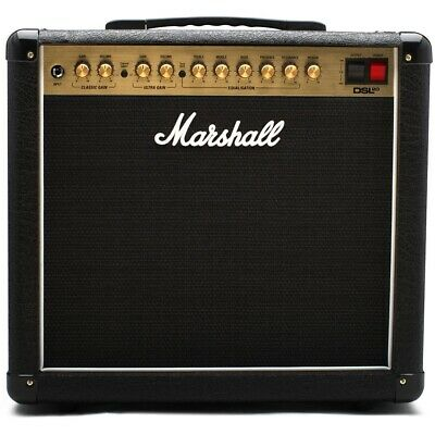 Marshall DSL20CR Tube Guitar Combo Amplifier, 20-Watt, 2-Channel, 1x12  • 434.37£