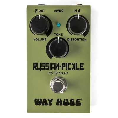 Way Huge Electronics WM42 Smalls Russian-Pickle Fuzz MkIII Guitar Effects Pedal • 115£