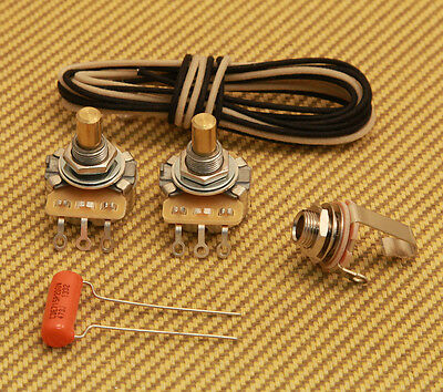 WKP-VNT Vintage Style Wiring Kit For USA Fender P Bass