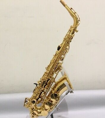 Yamaha YAS-480 Intermediate Eb Alto Saxophone Gold Finish Expedited Shipping • 1,324.26£