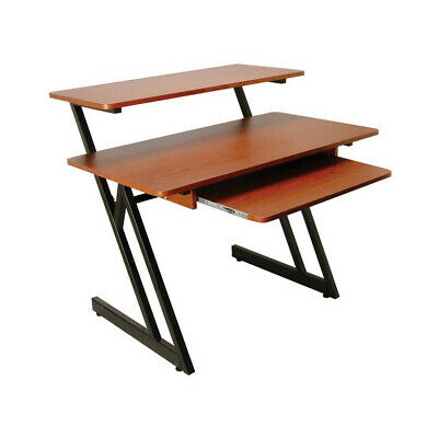 On Stage WS7500RB Series Wood Workstation In Rosewood/Black Steel • 170.64£