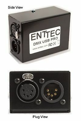 ENTTEC USB DMX PRO 70304 Interface Works With Free & Licensed Software • 125.17£