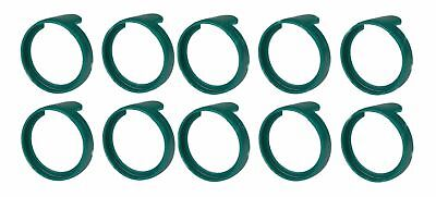 (10 Pack)  NEUTRIK PXR-5  Green Colored ID Rings For PX Series 1/4   Connectors • 4.47£