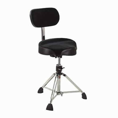 Gibraltar 9608MB Drum Throne With Motorcycle Seat And Backrest • 138.50£