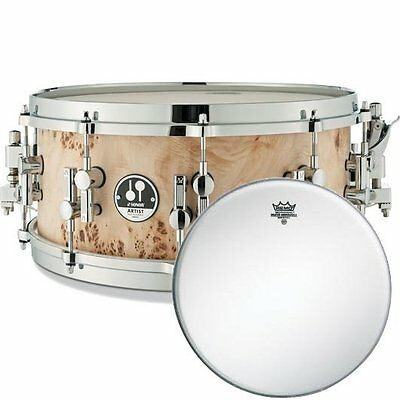 Sonor As 12 1406 Cm Sdwd Maple Snare + Remo Ambassador Coated Fur 14   • 936.09£